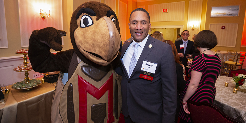 Arthur Ellis and Testudo
